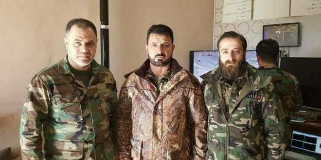"""محاولة اغتيال قائد """"لواء القدس"""" شمال حماه"""