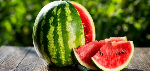 أسرار يقدمها الخبراء لمعرفة البطيخ الناضج