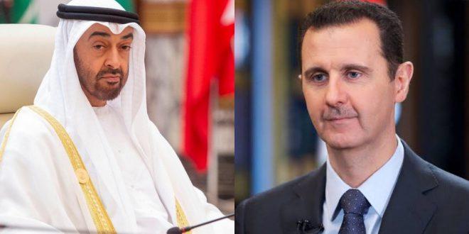 موقع فرنسي يكشف عن الدعم الذي تقدمه الإمارات لسوريا