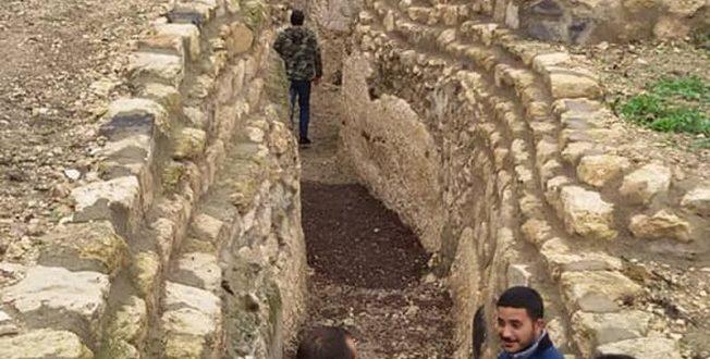 نفق الدياكابوليس لا يعترف بسايكس بيكو.. تحفة أثرية تمتد من سورية للاردن.. شاهد!