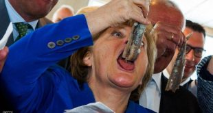 """""""4 آلاف سمكة رنجة"""".. هدية غير عادية من هولندا"""
