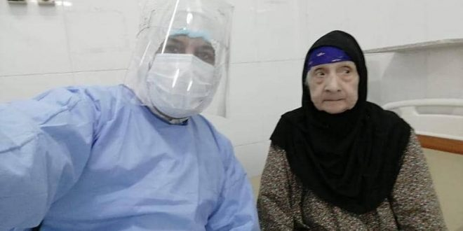 عجوز مصرية تهزم كورونا.. بعمر 96 عاما