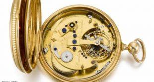 ساعة ملكية بريطانية اقتناها نابليون وقياصرة روس