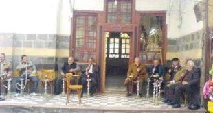 مقهى خبيني.. تعرفوا على أحد أشهر مقاهي دمشق