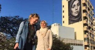 سيدة سورية تتصدر المشهد في البرازيل !