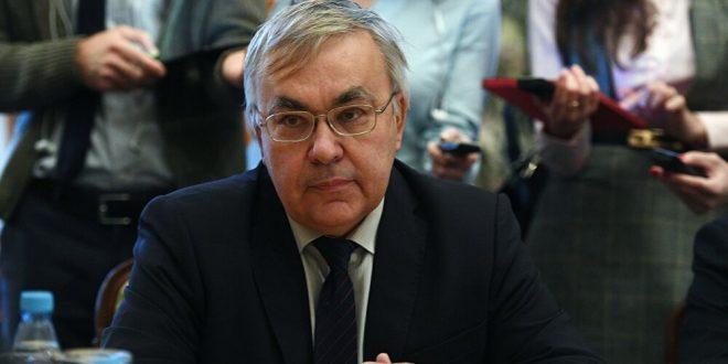 نائب وزير الخارجية الروسي والسفير الإيراني في موسكو يبحثان الوضع في سوريا
