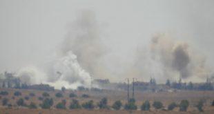 المشاهد الأولى للدمار الذي خلفه العدوان الإسرائيلي في ريف حماة.. شاهد!