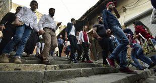 دمشق...ازدحام شديد وعدم التزام بقواعد التباعد الاجتماعي...صور وفيديو