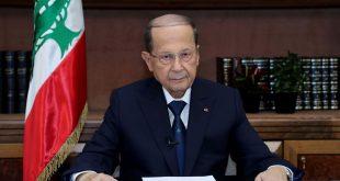الرئيس اللبناني يحذر من اندلاع حرب أهلية