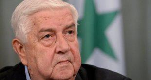 وليد المعلم يعلن دعم سوريا لمصر في تصعيدها الأخير ضد تركيا في ليبيا
