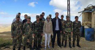 بالصور: الرئيس الأسد وعقيلته يزوران إحدى النقاط العسكرية للجيش السوري.. شاهد!