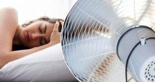 لماذا يمنع تشغيل المروحة أثناء النوم
