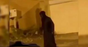 """""""كائن غريب"""" يجوب شوارع السعودية"""