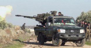الجيش السوري يستعيد السيطرة على بلدتين بريف حماة