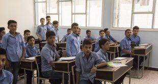 """هدايا من """"أشبال الجيش الروسي"""" إلى تلاميذ مدارس في سوريا"""