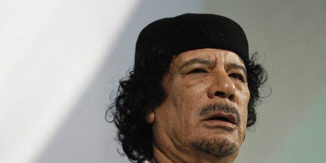 تسجيل صوتي سري القذافي يثير ضجة كبيرة