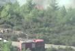 العثور على بالون أمريكي خاص بإشعال الحرائق جنوبي سوريا
