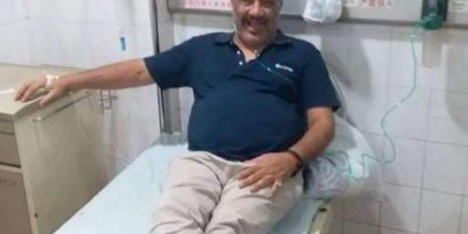 رجل أعمال مصري أصيب بكورونا مرتين