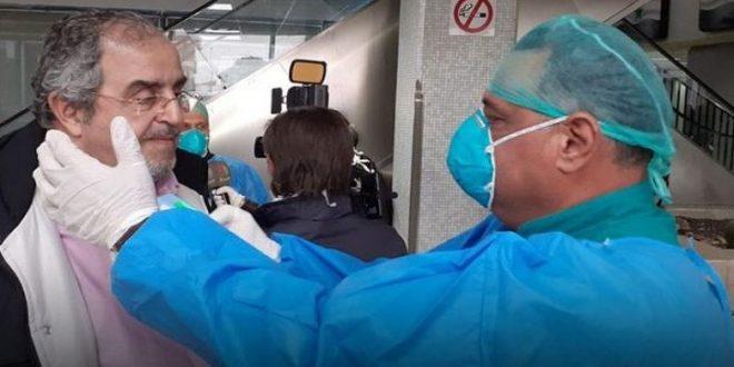 تخريج 12 شخصاً من مركز الحجر الصحي بحمص بعد التأكد من سلامتهم