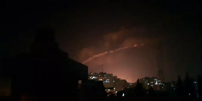 رصد لحظة العدوان الإسرائيلي على مركز بحثي سوري