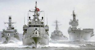 الدفاع التركية: سفن حربية تتحرك في البحر المتوسط ومقاتلات تحلق فوقها