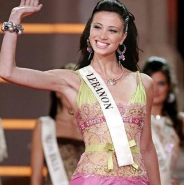 شاهدوا جمال أنابيلا هلال في مسابقة ملكة جمال الكون 2005.. بالصور