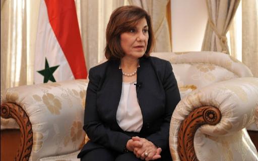 """بثينة شعبان: """"قيصر"""" يستهدف سورية وحلفاءها ولا خيار أمامنا سوى الصمود"""