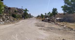 Screenshot 2020 06 25 بدء العمل لفتح طريق كراش في القابون بعد سنوات من الإغلاق تلفزيون الخبر اخبار سوريا