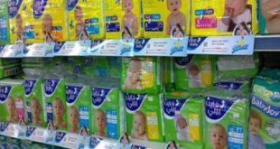 أسعار حفاضات الأطفال ترتفع لأكثر من 100 بالمئة