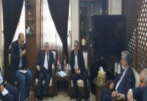 سورية تبحث تصدير منتجاتها الصناعية إلى الأسواق الإيرانية
