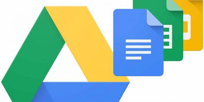 لمشاركة الملفات في جوجل درايف