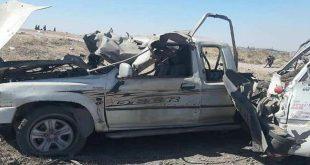 سانا: عدة إصابات بانفجار سيارة مفخخة قرب صوامع تل حلف