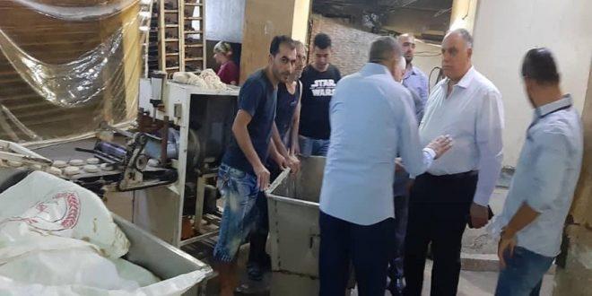 بعد قيامه بجولة ليلية.. البرازي يعفي مدير عام المخابز