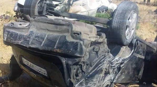 حادث سير مؤسف يودي بحياة طلاب سوريين على طريق درعا