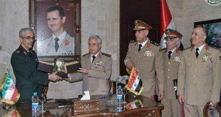 ماذا تعني زيارة رئيس الاركان الايراني لسوريا وتوقيع اتفاق عسكري شامل؟