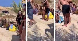 """فيديو لحفل مختلط بـ""""البكيني"""" يثير ضجة في الأردن.. شاهد!"""