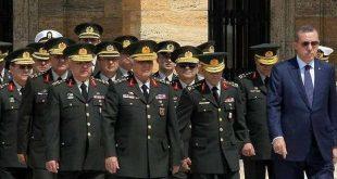 صحيفة تركية: إقالة ضباط في الجيش التركي لخلافهم مع قياداتهم حول سوريا