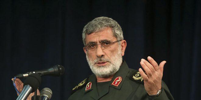 """أول رد رسمي إيراني على أنباء وجود قائد """"فيلق القدس"""" على متن الطائرة المدنية"""