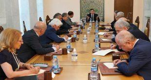 الرئيس الأسد يرأس اجتماعاً للقيادة المركزية لحزب البعث