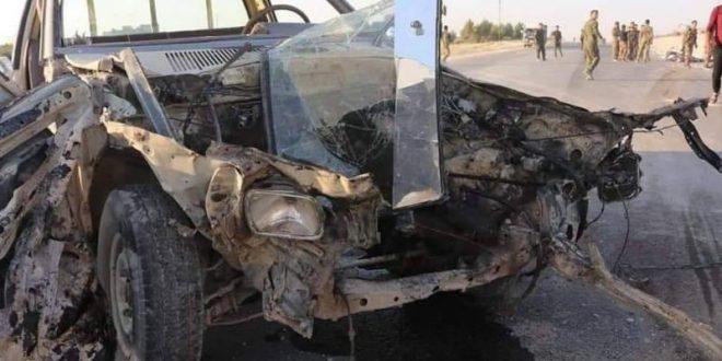حادث سير مروّع يودي بحياة 4 أشحاص شرق حلب