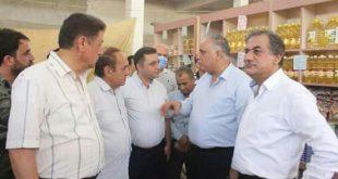 """البرازي يؤكد إخضاع """"السورية للتجارة"""" للرقابة التموينية"""