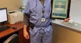 طبيب سوري يحصل على شهادة افضل طبيب لعام 2020 في الولايات المتحدة الامريكية