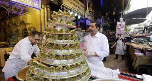 كيلو البرازق والغريبة بـ 11 ألف ليرة في الميدان