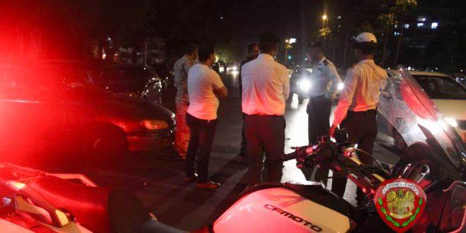 دوريات مشتركة بين المرور والأمن السياسي في شوارع دمشق.. والسبب؟