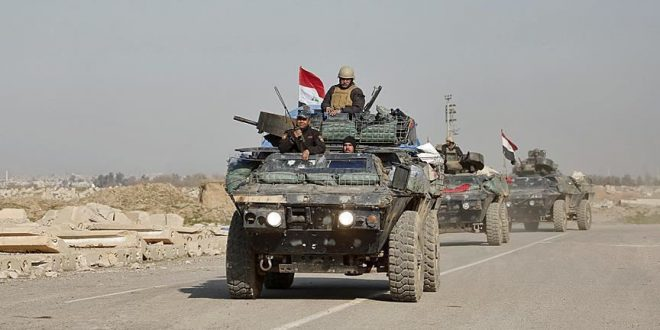 تعزيزات عسكرية عراقية لتأمين الحدود مع سورية