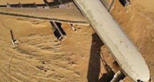 طائرة مهجورة في صحراء أبو ظبي.. ما قصتها؟