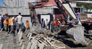 وفاة عاملين وإصابة آخر جراء انهيار بناء قيد الإنشاء في اللاذقية
