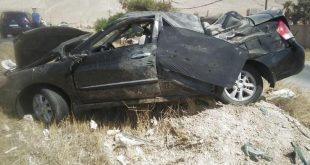 وفاة امرأة بحادث مؤسف على اتستراد دمشق حمص في أول أيام العيد
