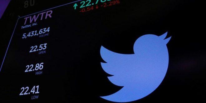 """سهم """"تويتر"""" ينهار بعد هجمة تاريخية لهكرز"""