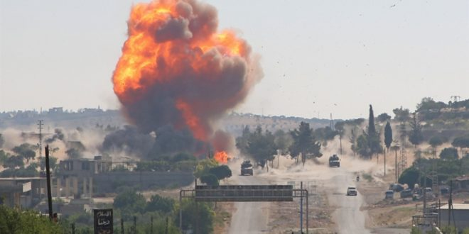 موسكو تشنّ حملة واسعة على إدلب